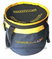 Team Mosella Zip Top Worm Bucket 20 X 17cm Coarse Fishing