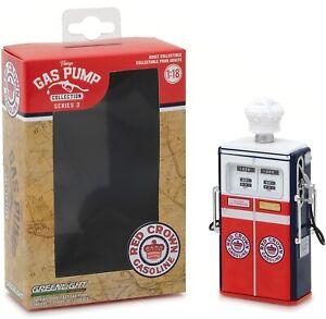Fuel Pump Red Crown Gasoline Gas Pump 1:18 Greenlight No Figurine