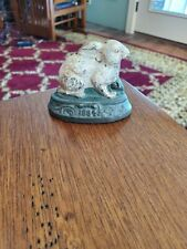 Antique Cast Iron Penny Bank - Extremely Rare Highly Collectable 1884 Rabbit