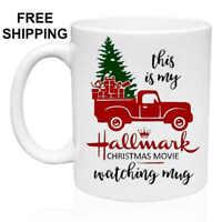 Hallmark Christmas Movie, Christmas Gift, White Mug 11 oz, Coffee/Tea