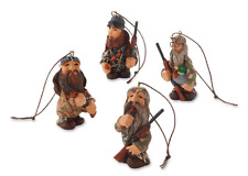 Duck Commander Figural Ornament Set of 4 Demdaco