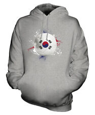 SOUTH KOREA FOOTBALL UNISEX HOODIE TOP GIFT WORLD CUP SPORT