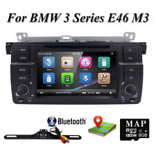 "For BMW 3 Series E46 Single Din 7"" Car Radio DVD GPS Navigation Stereo HD BT DVR"