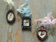 Set of 3 Vintage Style Rhinestone Petite Frames  by Sass & Belle