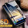 Samsung Galaxy S8/S9 Plus/Note 9 6D Screen Protector Full Glue 9H Tempered Glass