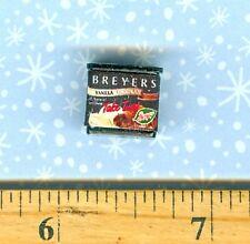 ***SALE*** Dollhouse Miniature Size Breyers Ice Cream carton Vanilla