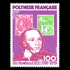 "French Polynesia 1979 - Death of Rowland Hill ""1795-1879"" - Sc322 MNH"