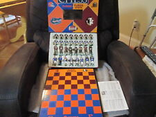 NCAA College Football Chess Set Florida Gators vs. Florida State Seminoles RARE