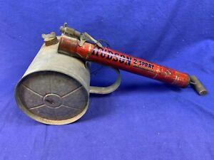 Vintage Hudson Bug Sprayer ,Old Fashioned Pump Duster Excellent Works USA d897