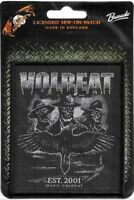 Official Licensed Merch Woven Sew-on PATCH Heavy Metal VOLBEAT Outlaw Raven