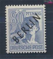 Berlin (West) 15 geprüft postfrisch 1948 Schwarzaufdruck (8717028