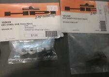 HPI SAVAGE XS PARTS LOT wheel hex hub 12mm and diff shaft 5x23.5 2 pcs nib