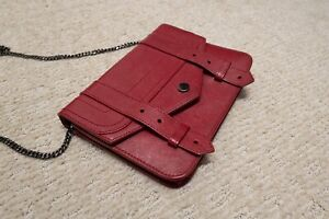 Proenza Schouler PS1 Large Chain Wallet Red