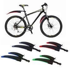 Bicycle Cycling Front Rear Mud Rain Guard Mountain Bike Fenders Black & Gray