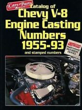 CHEVY V8 ENGINE CASTING NUMBERS SMALL BIG BLOCK CAR TRUCK 1955-93 CHEVROLET BOOK