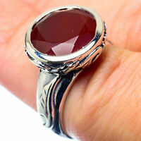 Red Onyx 925 Sterling Silver Ring Size 6 Ana Co Jewelry R26958F