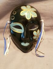 Porcelain Ceramic Painted Wall Hanging Face Mask