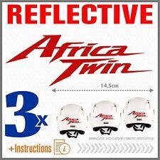 3x Africa Twin Rosso Rifrangente HONDA CRF1000L ADESIVI CRF 1000 L 2016 CRF1000