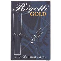 Rigotti Gold Tenor Saxophone Reeds Strength 3 Medium