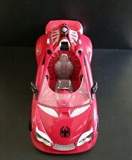 "12"" Spiderman""Spider-mobile"" Action Figure Vehicle 2006-2007 Marvel, Hasbro used"