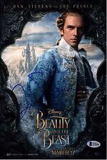 DAN STEVENS SIGNED BEAUTY AND THE BEAST SIGNED 8X12 PHOTO AUTOGRAPH BAS PSA