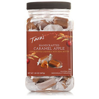 Tara's All Natural Handcrafted Gourmet Caramel Apple Flavored Caramels: Small &