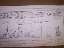 command ship NORTHAMPTON plan