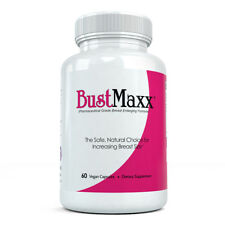 BustMaxx Original Formula - Natural and Safe Breast Enhancement (60 Capsules)