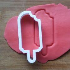 Lolly Ice Lolly Cookie Cutter Biscotto Pasticceria FONDENTE Stencil Sagoma