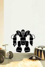 ROBOT No6 Children's bedroom nursery vinyl sticker wall transfer art home decor