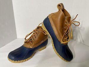 LL Bean Women's Bean Duck Boots, Size 8 Wide (K)