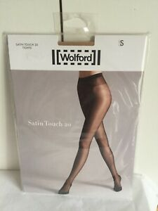 Wolford Satin Touch 20 Tights - COSMETIC colour - Small - BNIP (RRP £19)