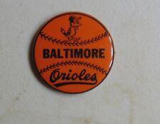 Baltimore Orioles baseball MLB sports pin button