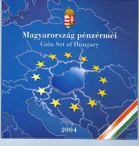 Ungarn Forint-Kursmünzensatz 2004 EU-Beitritt PP  (238 Forint)