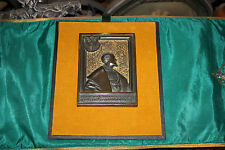 Antique Renaissance Casting Tile Plaque-King Charles V Fifth-Christianity-Museum
