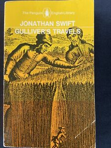 Gulliver's Travels by Jonathan SWift (Penguin English Library) good paperback