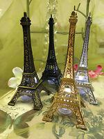Eiffel Tower Paris  Metal Stand Model Table Decor w/Extra LED waterproof Light