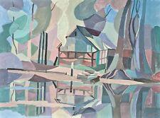 Sonja Wüsten - Fischerhude - Temperamalerei - 1997