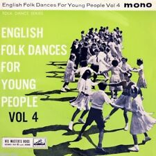 """7"""" COUNTRY DANCE BAND English Folk Dances For Young People Vol.IV HMV EP UK 1961"""