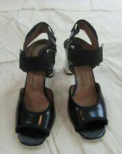 Marni Block Heeled Sandal Size 38 (US 7.5)