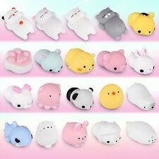 Cute Squishy Toy Set Mini Animal Kawaii Squishies Stress & Anxiety Relief