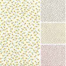 Cotton Poplin Ditsy Floral Fabric Material - Floral - 0834