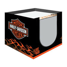 Harley-Davidson® Bar Shield Live to Ride Paper Note Cube - 700 Sheets HDL-20102