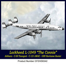 Lockheed L-1049 Constellation Airliner & Navy C-121 USAF Free Shipping in USA