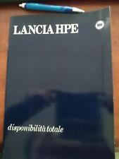 DEPLIANT BROCHURE LANCIA HPE ITALIANO 30 PAGINE