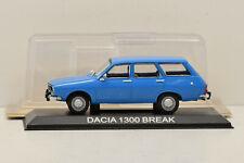 DACIA 1300 / RENAULT 12 BREAK 1970 1/43 NEUF EN BOITE DeAgostini