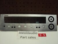 Technics Receiver SA-80 Faceplate Rated 8.8 Out Of 10 Parting Out Entire SA-80.