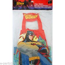 THE BATMAN FAVOR BOXES (4) ~ Superhero Birthday Party Supplies Treat Loot Goody