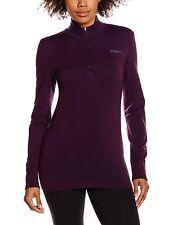 NEW NWT Craft Women's Wool Comfort Zippered Training Jersey, Space, XS Purple