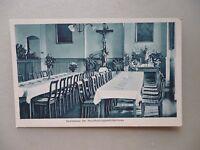 Ansichtskarte Haushaltungsschule Kloster Siessen Saulgau 1928 Speisesaal
